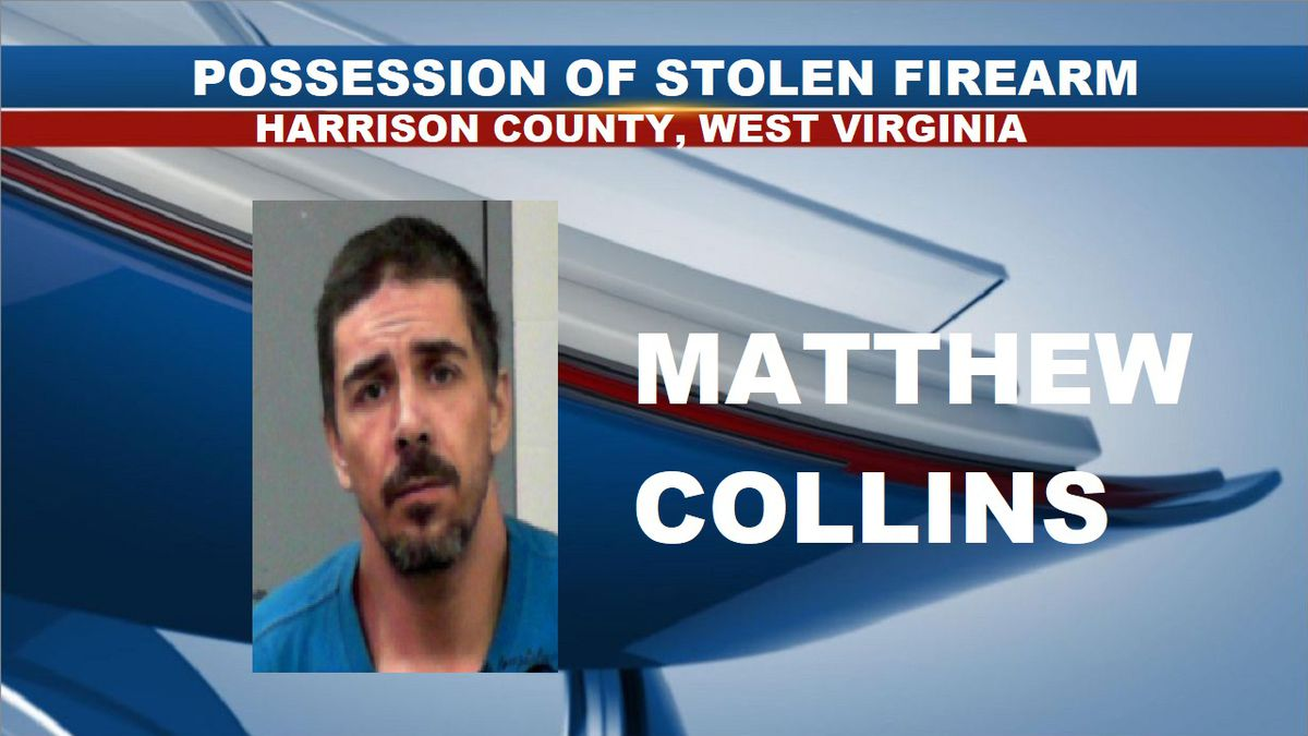 Matthew Collins pleaded guilty to one count of possession of stolen firearm. (Source: North Central Regional Jail)