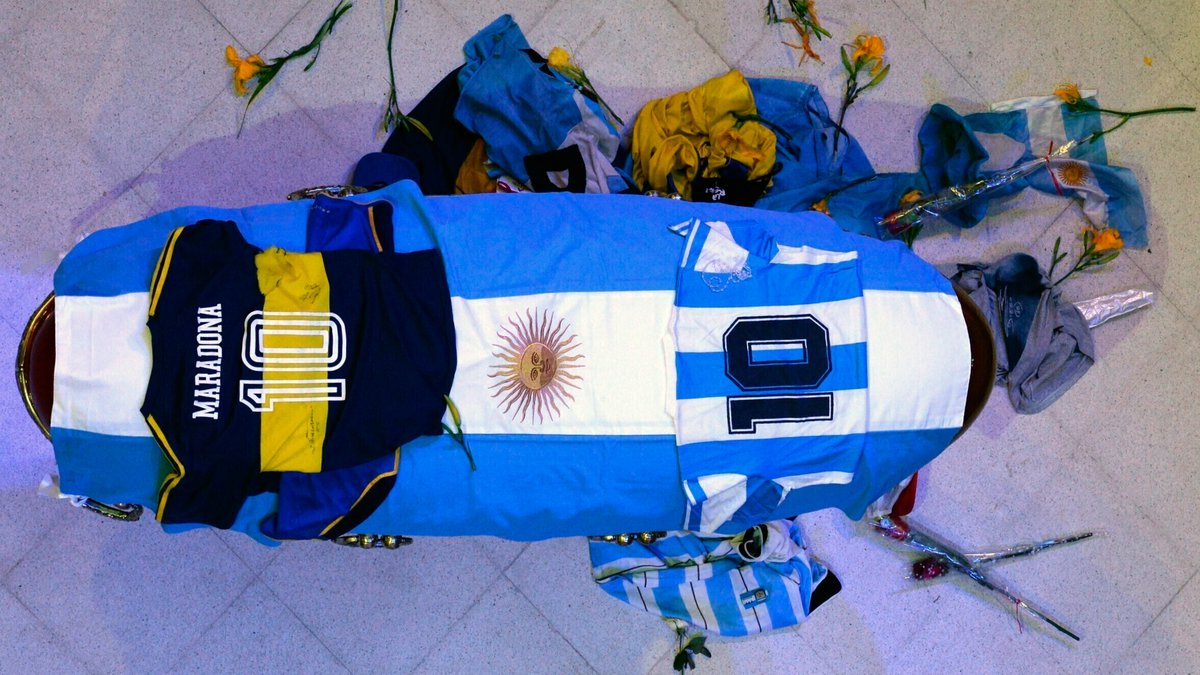 Diego Maradona died of a heart attack Nov. 25 at a rented residence outside Buenos Aires...