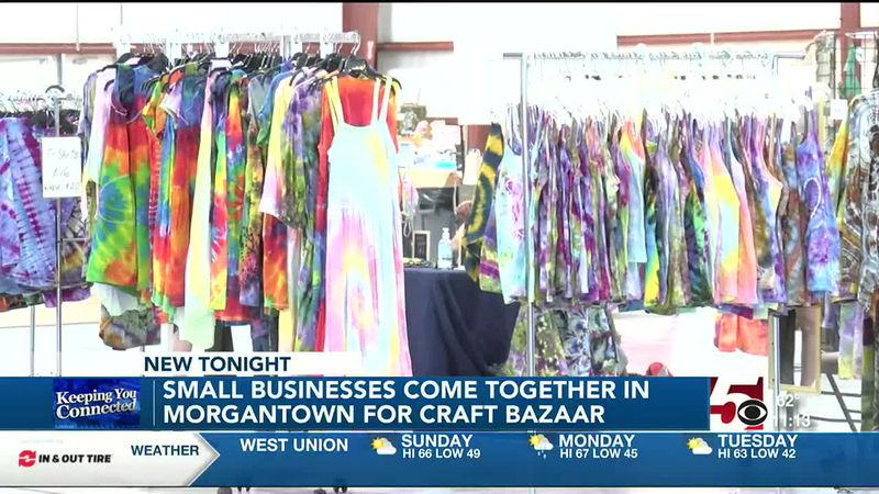 Small Business owners hold craft bazaar at Mylan Park