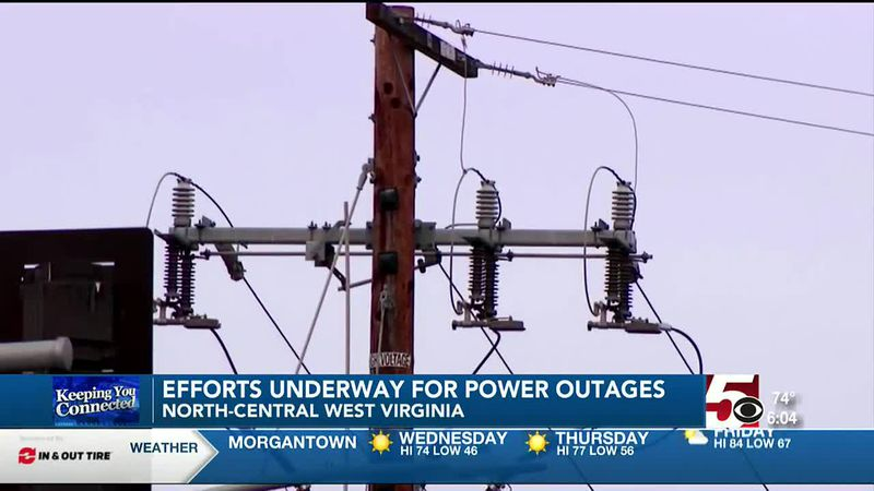 Efforts continue to restore power in parts of north central W.Va