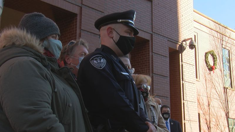 City recognizes first responders