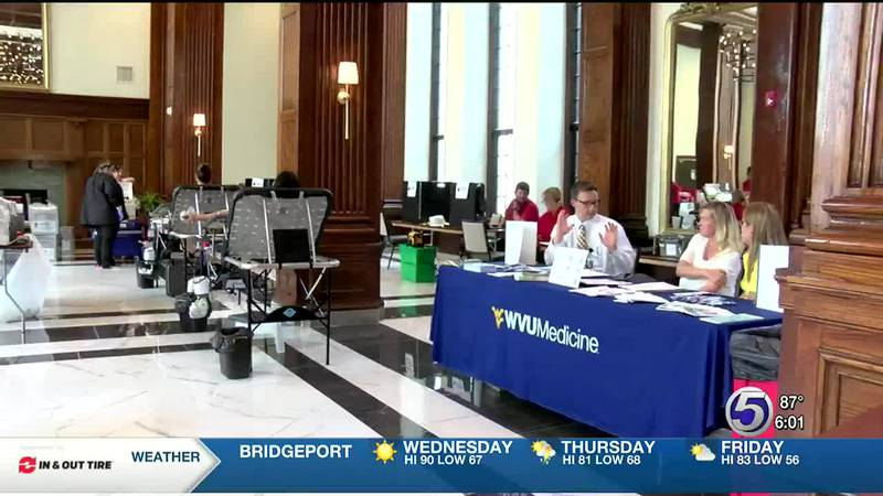 Blood drive at Hotel Morgan hosted in honor of delegate's son