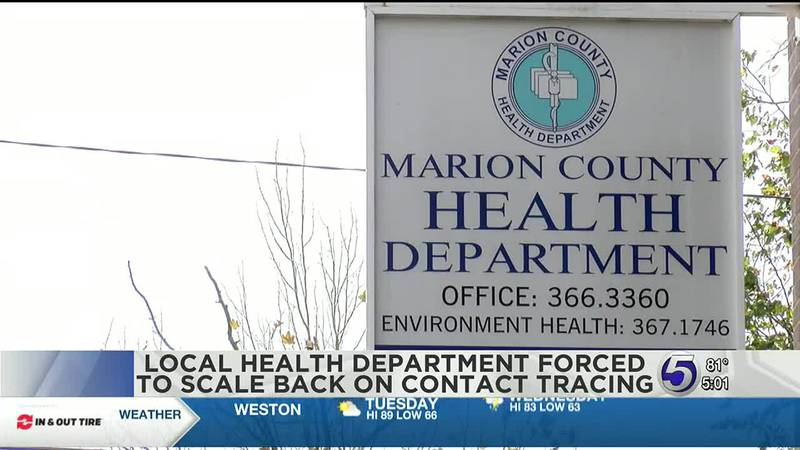Local health department forced to scale back on contact tracing.