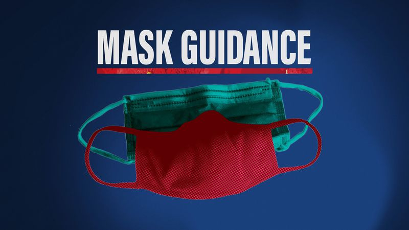 The Centers for Disease Control and Prevention recently released new masking guidance for those...