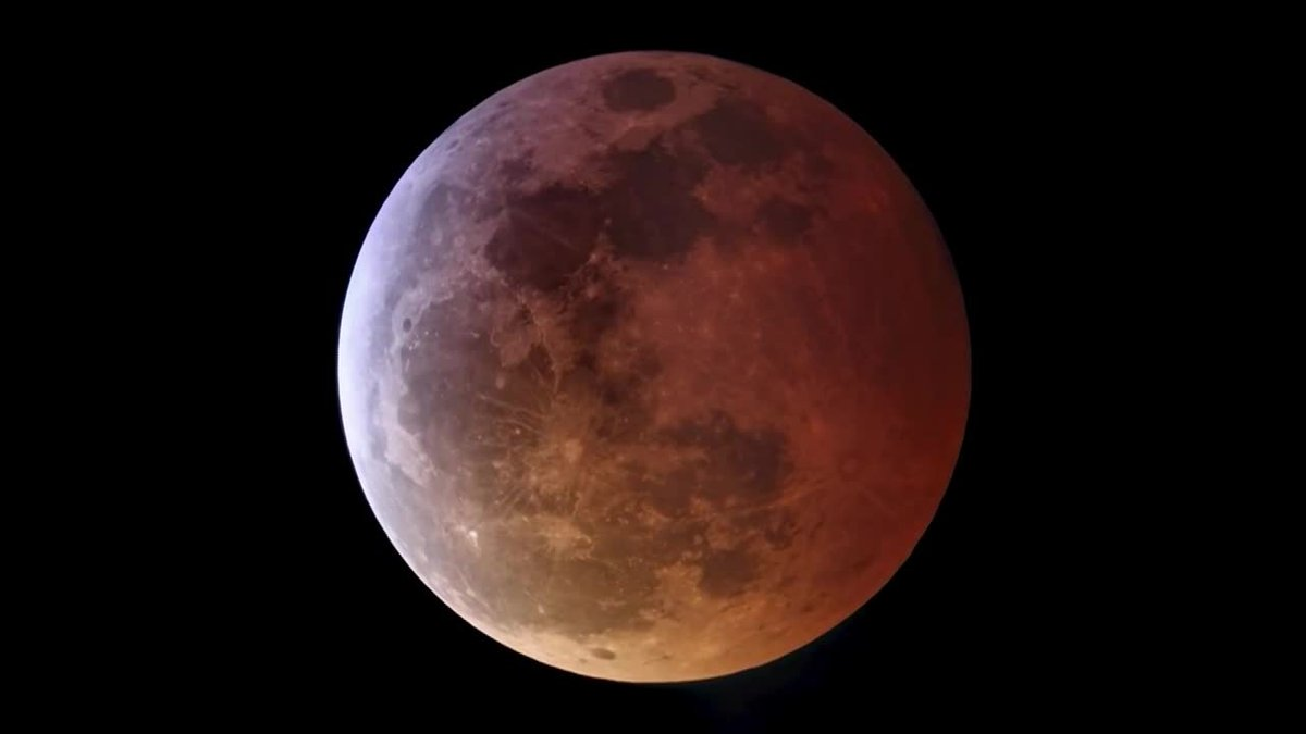 This week's super flower blood moon eclipse was a rare, interstellar double feature.