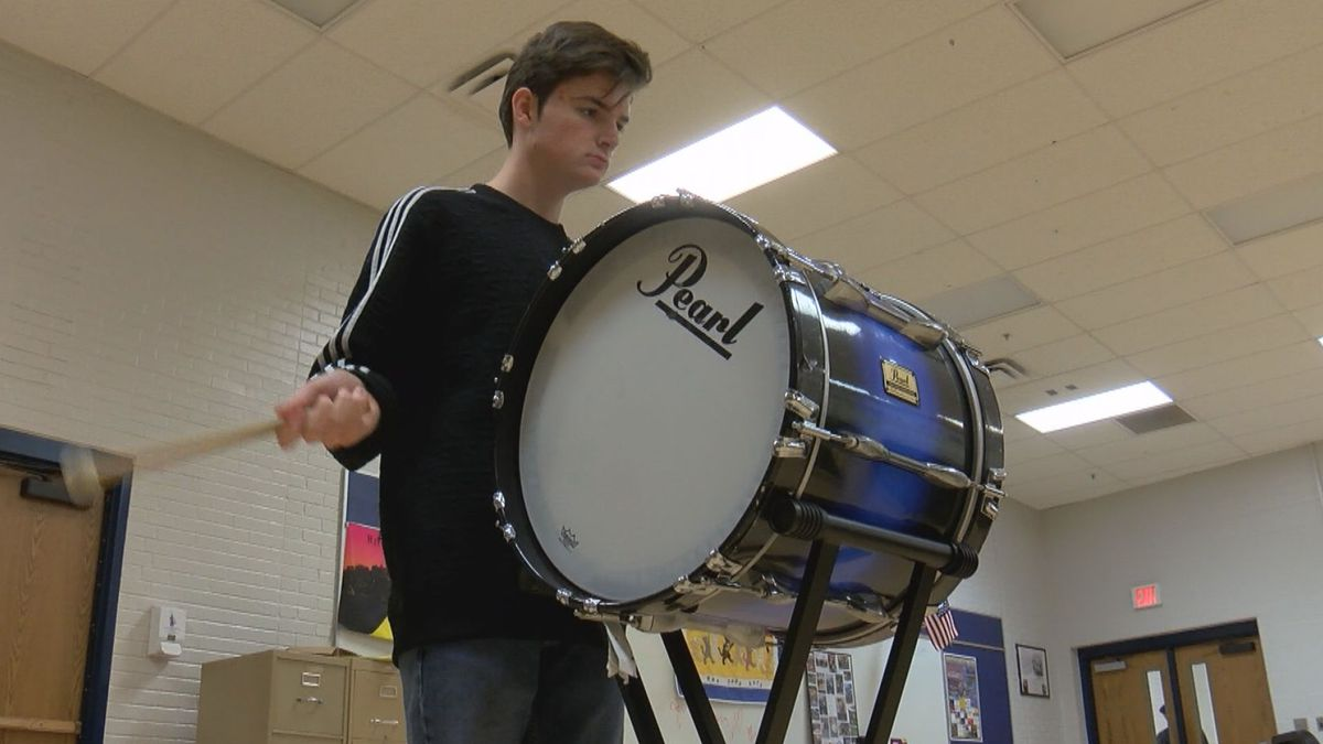 Grafton High School junior Landon Tucker was selected to perform with the Great American Marching Band in the Macy's Thanksgiving Day Parade.