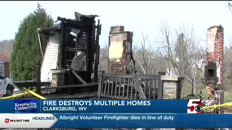Easter fire destroys homes, devastates families in Clarksburg