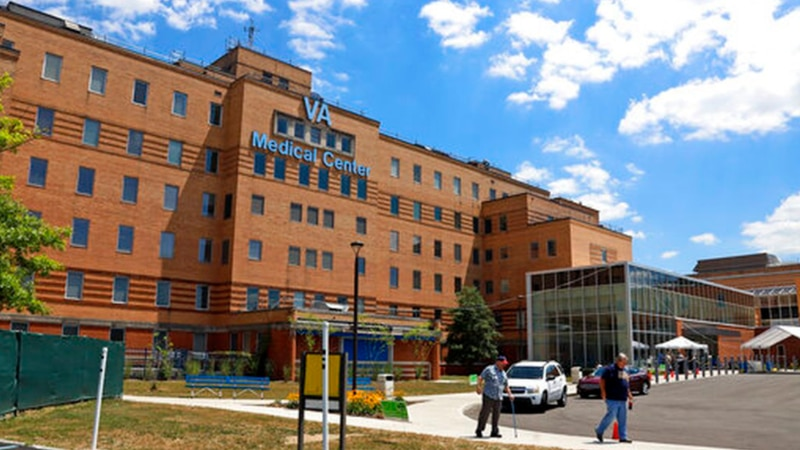 The Louis A. Johnson VA Medical Center in Clarksburg, W.Va., is seen on Tuesday, July 14, 2020.