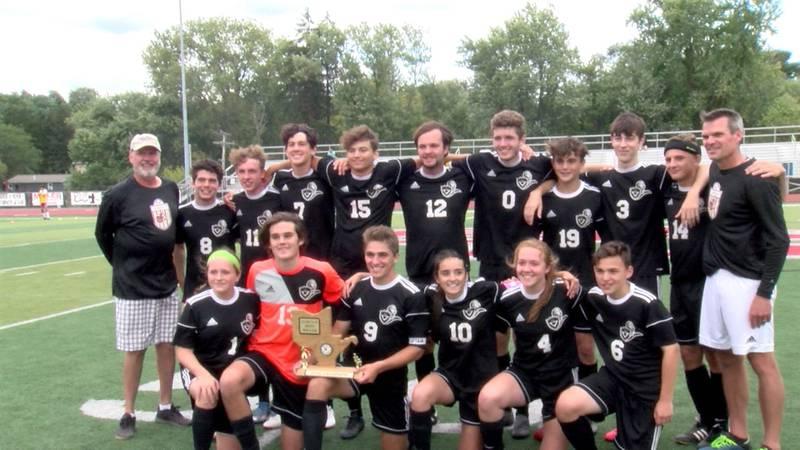 Trinity Christian Soccer wins Class A OVAC Championship