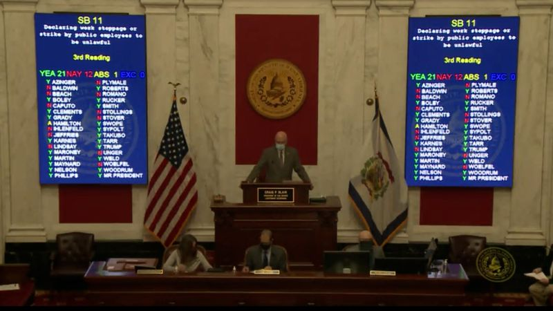 The WV Senate approved SB11 on Monday, February 22nd, 2021.