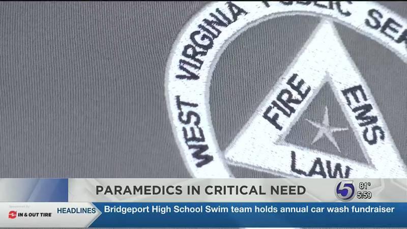 Paramedics in high demand across West Virginia.