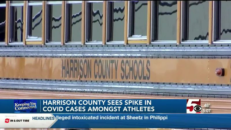 More than 300 Harrison County student athletes in quarantine due to COVID-19 cases