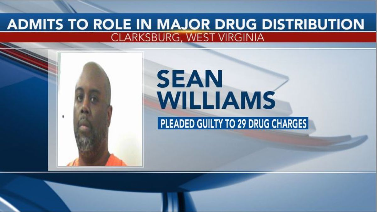 Sean Williams admitted to his role in a major drug distribution operation that spanned two states. (Picture Credit: Central Regional Jail)
