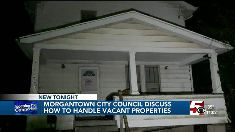 Morgantown City Council discuss vacant properties