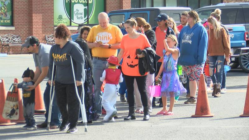 Triple S. Harley-Davidson in Morgantown held their annual Trunk or Treat event.