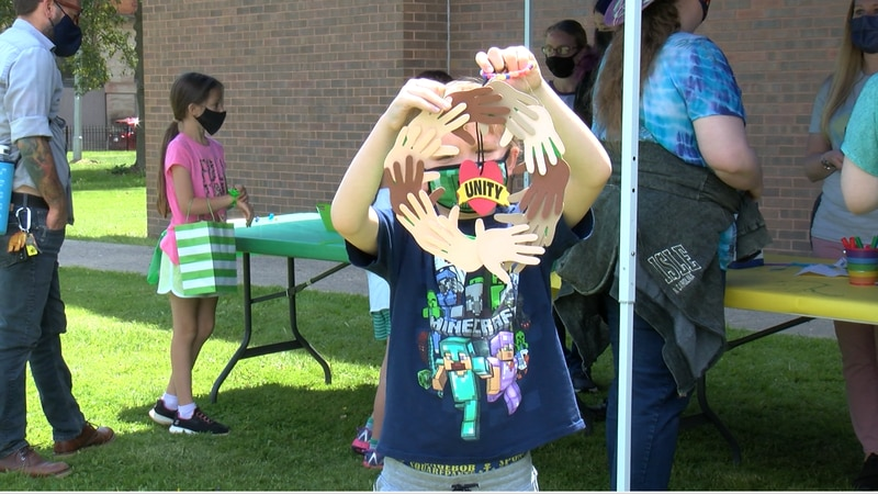 The Clarksburg-Harrison Public Library held an event to celebrate diversity.
