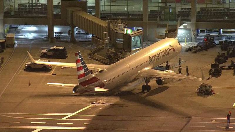 An American Airlines flight landed early after a flight attendant was attacked by a passenger....