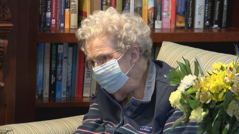 Family and friends gathered in Morgantown to celebrate Mildred Fizer's 100 birthday.
