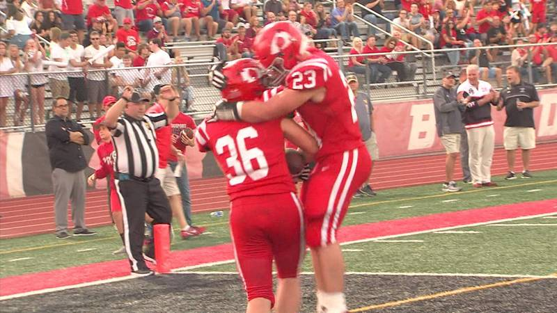 Bridgeport Football plays rivals back to back