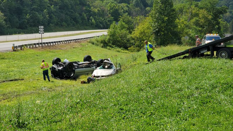 An accident on Rt. 50 left one person dead.